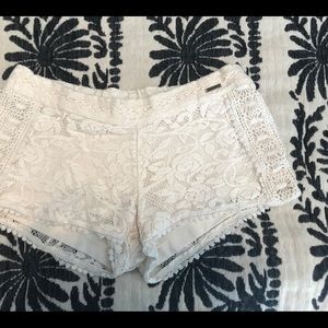 Element Lace Crochet shorts. XS